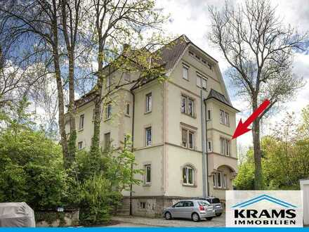 Wohnen mit Stil! Top-sanierte 4-Zimmer-Wohnung in zentrumsnaher Lage von Reutlingen