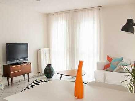 ab 1 Monat: möbl. 2-Zimmerwohnung mit Sonnenterrasse, Wlan, TV, Küche, Du/Wc, ab 1 Monat buchbar