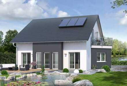 Ein Haus für die Familie mit Grundstück. Geräumig, hell, gut geschnitten.