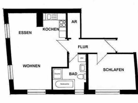 Freundliche 2-Zimmer-Wohnung in Rottweil
