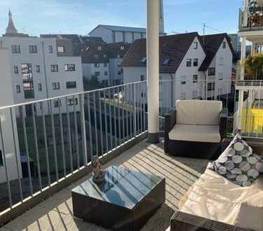 Modern möblierte 3-Zimmer-Wohnung in Winnenden zu vermieten