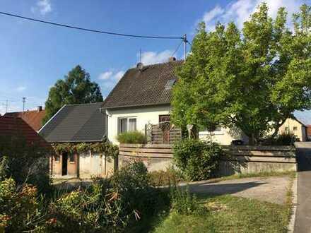 Renoviertes Einfamilienhaus in Langenneufnach