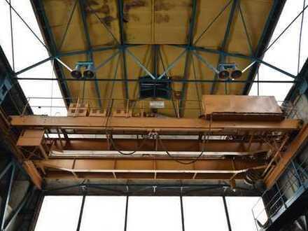 Gewerbehalle mit Kranbahn an gut angebundenem Gewerbestandort in Heidenau