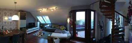 4-Zimmer-Maisonette-Wohnung mit Traumausblick über Backnang