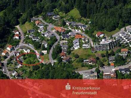 Baugrundstück in sonniger Hanglage in Alpirsbach