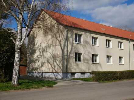 Super 4-Raum Wohnung mit Garage & Garten im Grünen
