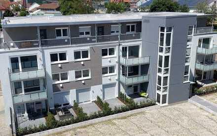 Moderne Single-Wohnung mit Küche und Terrasse