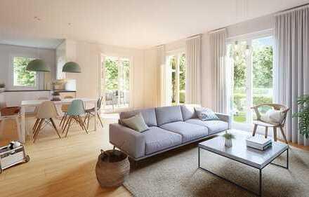 Schöne 2-Zimmer-Wohnung mit Terrasse und Garten