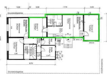 Erstbezug nach Sanierung: stilvolle 3-Zimmer-EG-Wohnung in Stuttgart