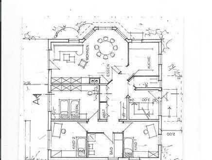 Gepflegte 4-Zimmer-Wohnung mit Terrasse und EBK in Wöllstein
