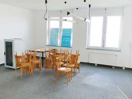 Profi Concept: kleine Bürofläche mit WC-Anlage im Gewerbegebiet von Ober Roden
