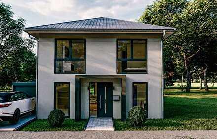 Attraktive Stadtvilla in moderner Architektur mit 130m² Wohnfläche - individuelle Planung!