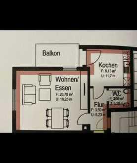 DOPPELPACK 1-Zimmer Wohnung 36 qm Hobbyraum zu 1-Zimmerwohnung 36 qm umgebaut! KEINE MAKLER!!!
