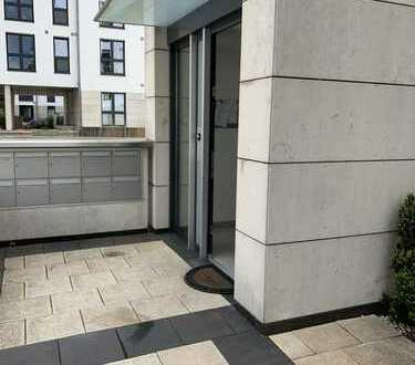 Moderne 2-Zimmer-Wohnung (KFW 55) mit Terrasse im Kronenviertel