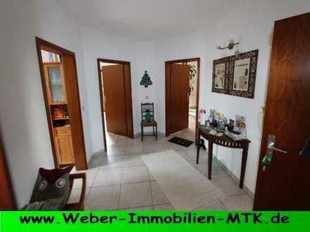 TRAUM-hafte, LUFT-ige DG Wohnung im 2 FH mit SONNEN-Balkon, TGL-Bad, halboffener Küche mit EBK