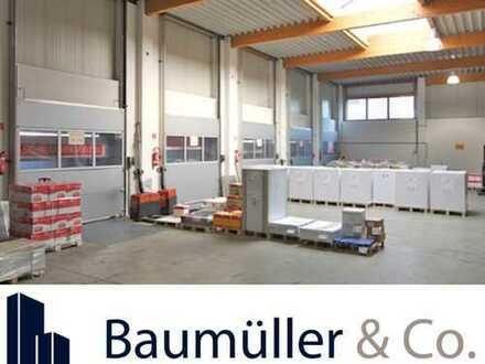 3.000 qm Hallenfläche Rampe in Mannheim