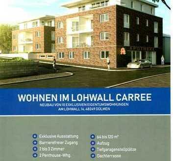 Wohnen im Lohwall Carree - Neubau von 10 exclusiven Eigentumswohnungen