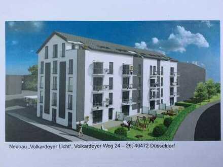 Erstbezug: exklusive 3-Zimmer-Wohnung mit Balkon in Düsseldorf