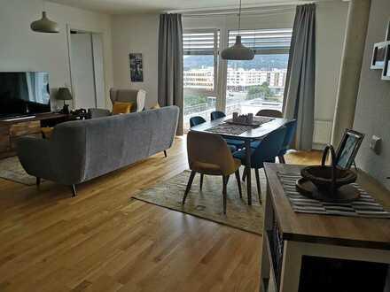 In Bahnstadt: Gepflegte Wohnung mit vier Zimmern und zwei Balkon