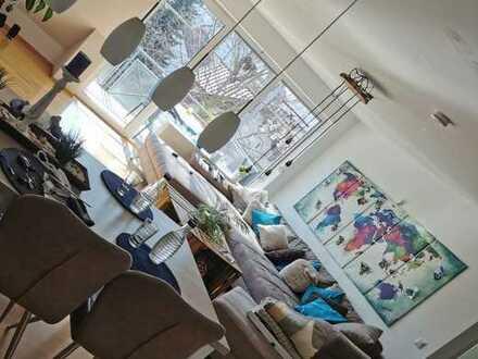 5-Zimmer-Maisonette-Wohnung mit Balkon und EBK in Erbach