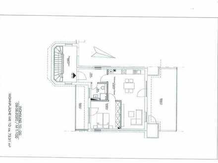 Königslutter: 2-Zimmer-Dachgeschosswohnung mit Balkon