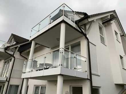 Gepflegte Wohnung mit zwei Zimmern und Balkon in guter Lage von Wilnsdorf mit Ausblick