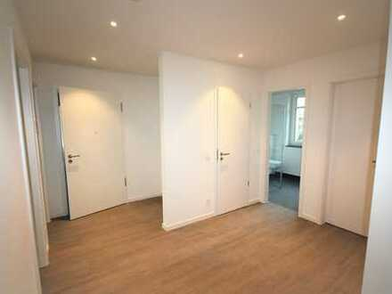 3 Zimmer-Neubau-Erdgeschosswohnung mit Gartenstück und hochwertiger Ausstattung