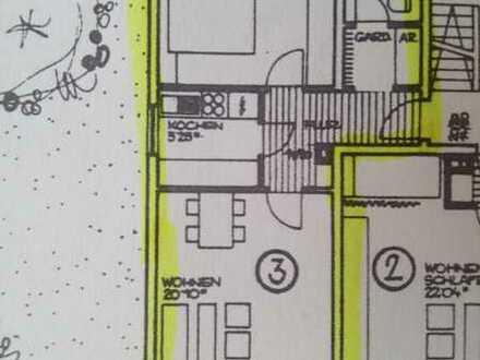 Schöne Wohnung mit zwei Zimmern sowie Balkon und EBK in Ehrenkirchen