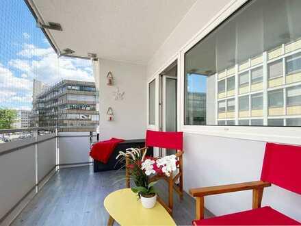 ***bezugsfreie 3 - Zimmer Wohnung mit Balkon im Zentrum v. Stuttgart nähe Universität***