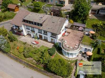 Top Rendite! Großzügiges und sehr gut vermietetes Gästehaus in toller Aussichtslage von Baiersbron