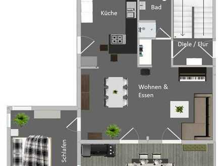 Einfamilienhaus frei stehend mit viel Platz zum Spielen für die Kleinen in 74074 Heilbronn (Ost)