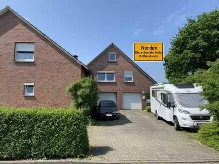 Niedliche, renovierte 2-Raum-Wohnung in beliebter Lage von Norden!