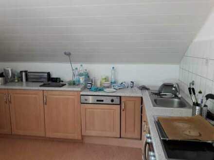 Freundliche, gepflegte 3-Zimmer-Dachgeschosswohnung zur Miete in Lautertal (Odenwald)