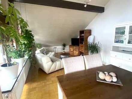 Attraktive 3-Raum-DG-Wohnung mit Balkon in Rheinstetten