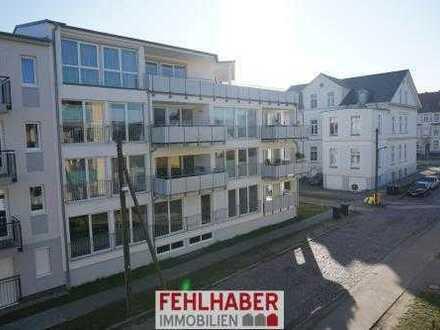 Neuwertige 2-Zimmer-Wohnung mit Aufzug, Tiefgarage und Terrasse am Zentrum Greifswalds