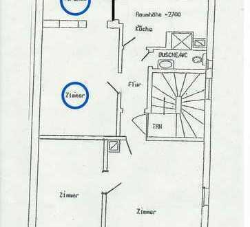 Helles möbiliertes 20qm Zimmer mit Veranda in S-Degerloch