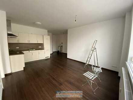 Zentrale 2 Zimmer-Obergeschosswohnung