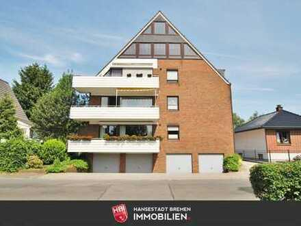 Burg Grambke / 1-Zimmer-Appartment in ruhiger Lage mit Blick ins Grüne
