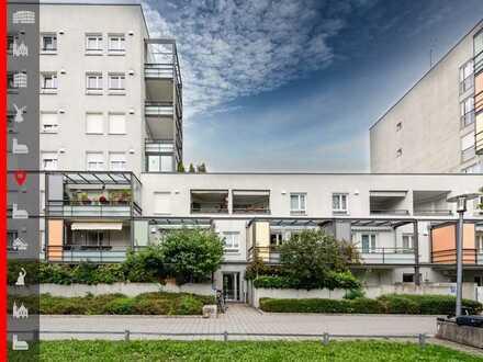 Charmante 2-Zimmer-Wohnung mit ruhigem Balkon in Westausrichtung