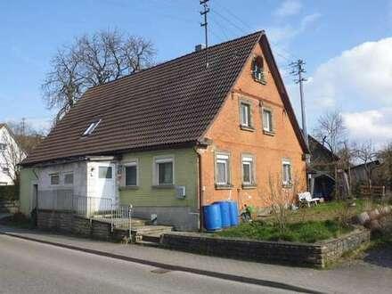 Renovierungsbedürftiges Einfamilienhaus in Blaufelden-Wiesenbach