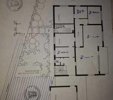 Schöne 5-Zimmer-Erdgeschosswohnung mit Balkon und Einbauküche in Blaustein