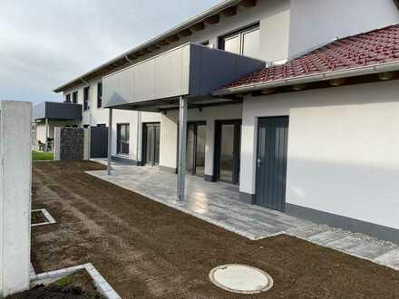 Neubau Wohnen und Arbeiten – Erdgeschoss Wohnung mit Garten und vielseitig nutzbarem Kellergeschoss