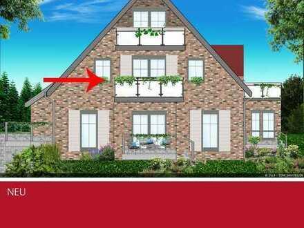 Wohnen am Fluss - Dachgeschoss Wohnung in Top Lage von Gemen
