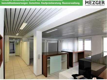 ++Praxis- oder Büroetage, oder was ganz anderes, mit Balkon und Stellplätzen +++