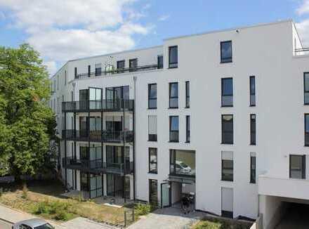 Neubauerstbezug, komfortable 2-Zimmer-Wohnung mit großem Balkon und Tiefgaragenstellplatz
