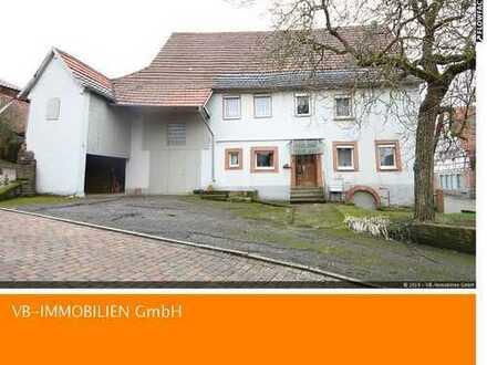 Haus mit Scheune ~ günstige Gelegenheit für handwerklich Begabte ....