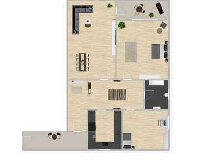Moderne 3 - Zimmer Wohnung - Erstbezug nach Sanierung