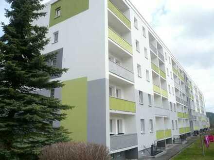 moderne 2-Raum-Wohnung mit Balkon in ruhiger Umgebung