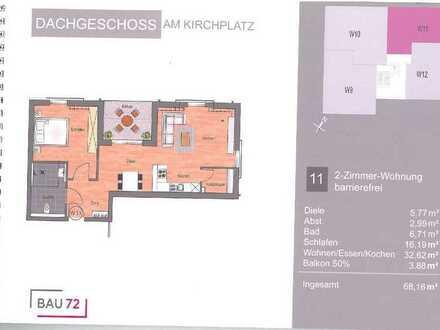 barrierefreie 2-Zimmer Neubauwohnung im Zentrum von Appenweier