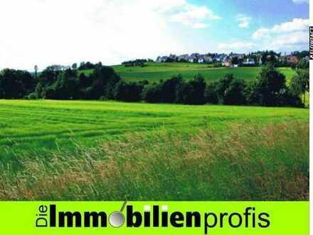 Über 4.000 m² Grundstück zur Wohnbebauung in herrlicher Stadtrandlage von Schwarzenbach/ Wald